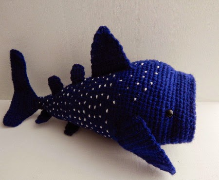 2000 Free Amigurumi Patterns: Free whale shark crochet pattern