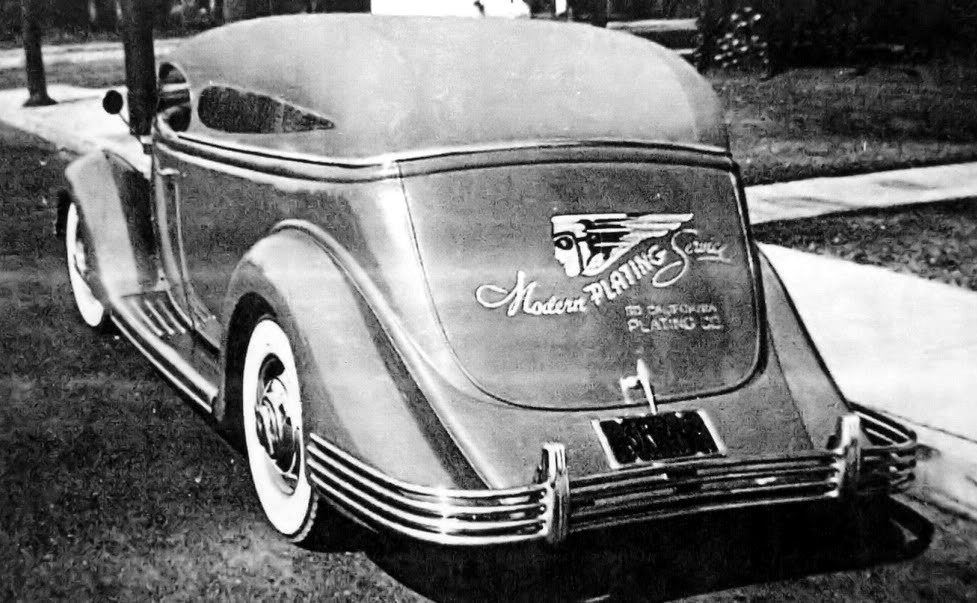 Just A Car Guy: Frank Kurtis built this 1936 Ford into a streamlined ...