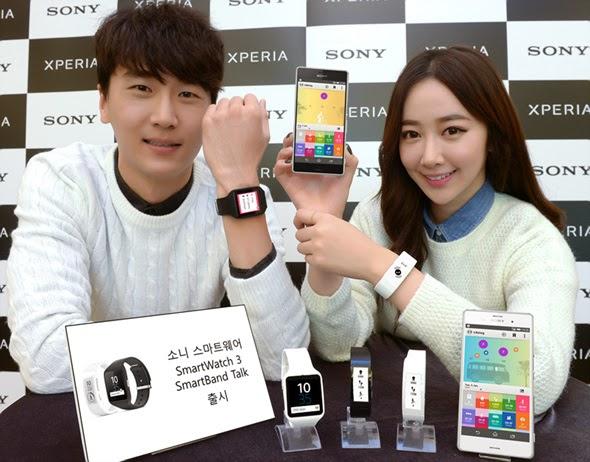 Đồng hồ Sony Smartwatch 3 SWR50 dây cao su giá rẻ