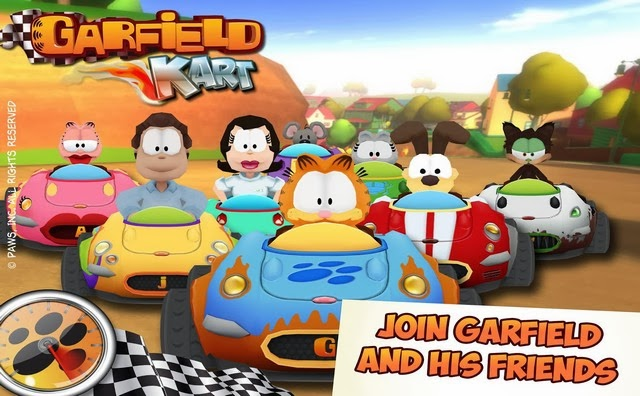 Garfield Kart apk - Screenshoot