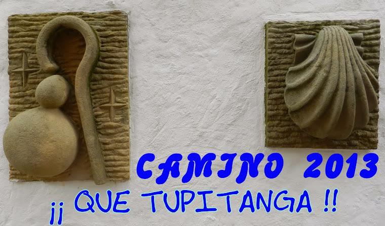 CAMINO DE SANTIAGO 2013 ¡¡¡ QUE TUPITANGA !!!