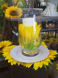 Sunflower Hurricane Candle Photo/></a></div><div class=