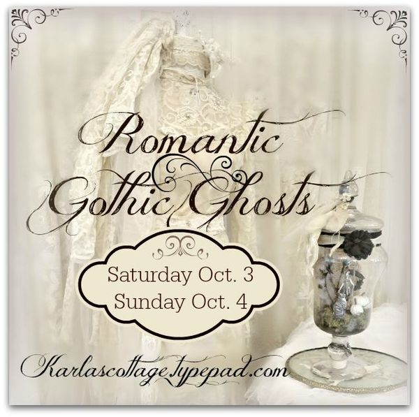2015 Karla's Cottage Romantic Gothic Ghost