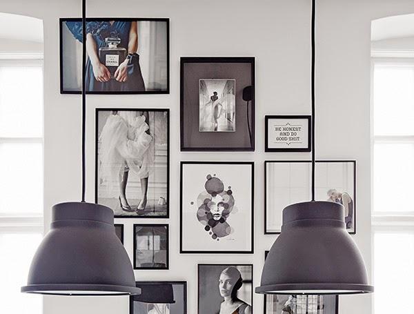 My scandinavian home the creative studio of katrin b th for Set cornici da parete