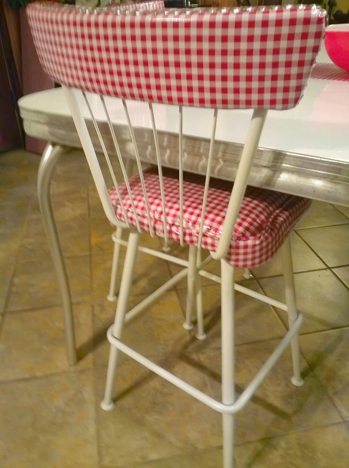 Vintage Kitchen Chairs Redo