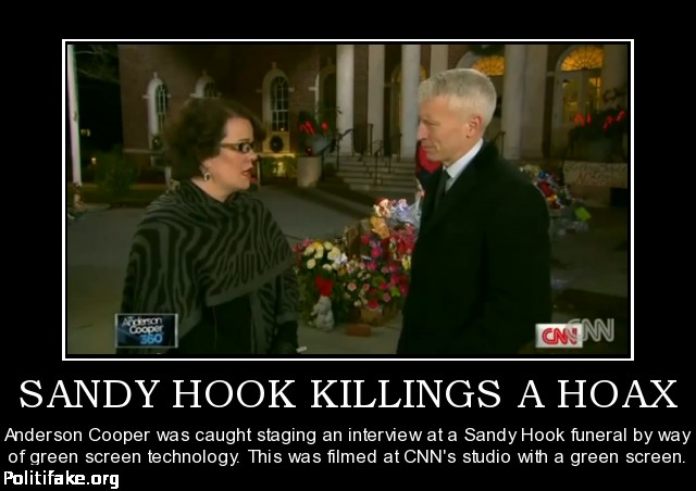 "sandy hook conspiracy In 2013, he called the massacre ""staged"" and continued to stoke his conspiracy theory for years ""sandy hook is a synthetic, completely fake, with actors, in my view, manufactured,"" he ."