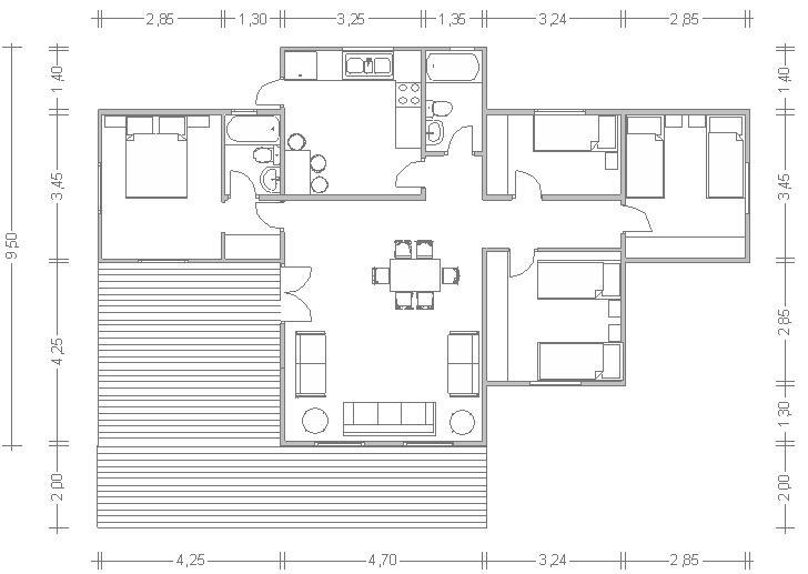 Design casas modulares planos las mejores ideas e - Planos casas modulares ...