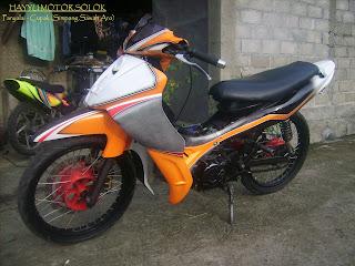 Gambar Modifikasi Motor Vega R 02