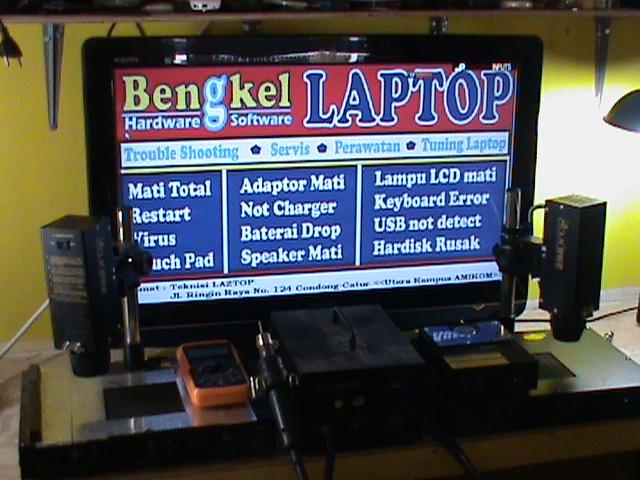 Bengkel LAptop dan Komputer