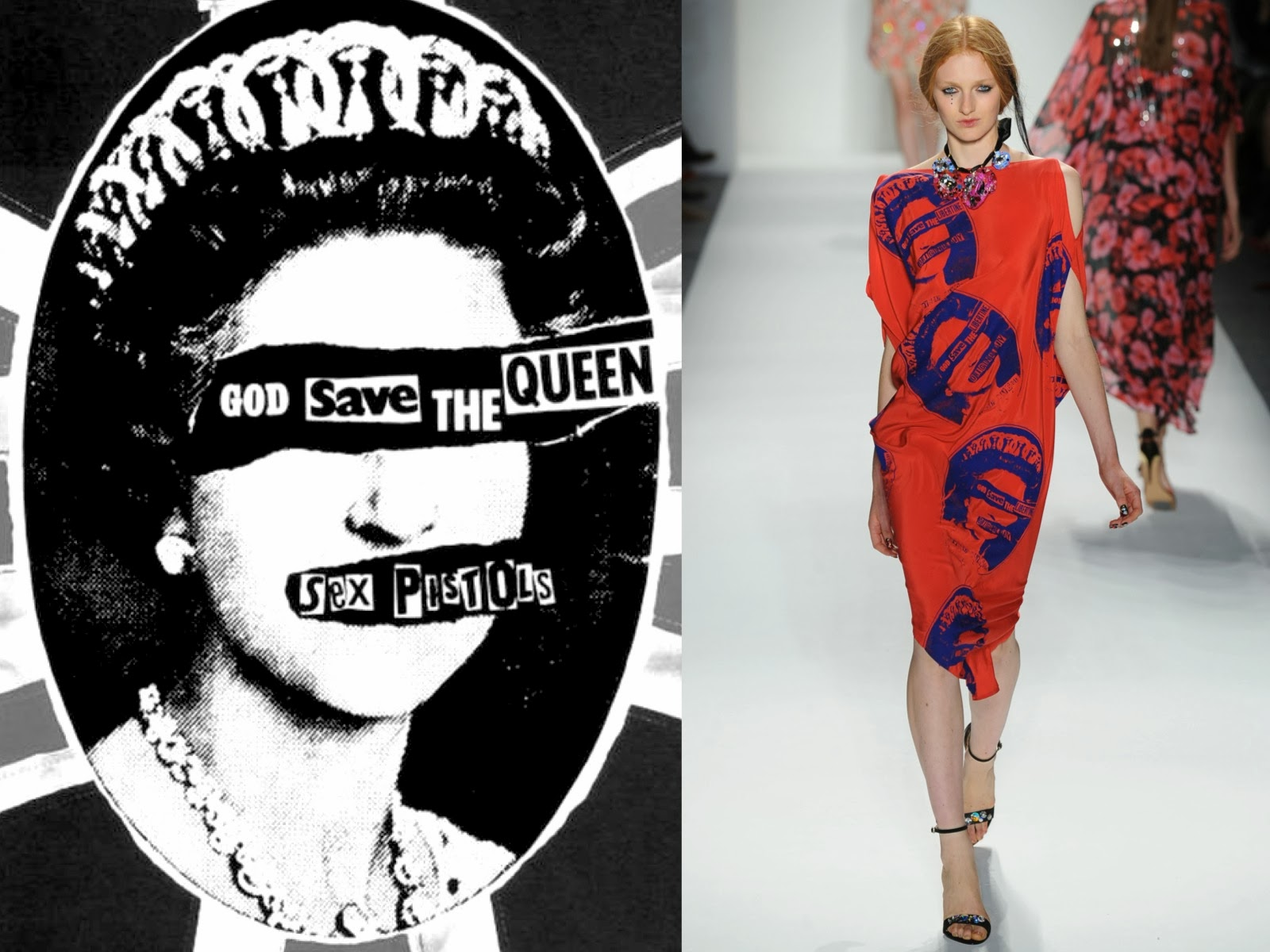 Into The Fashion Inspiration Sex Pistols God Save The Queen 1977