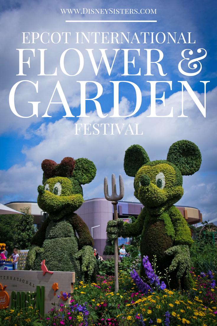 Disney Sisters Epcot Flower And Garden Festival In Full Bloom