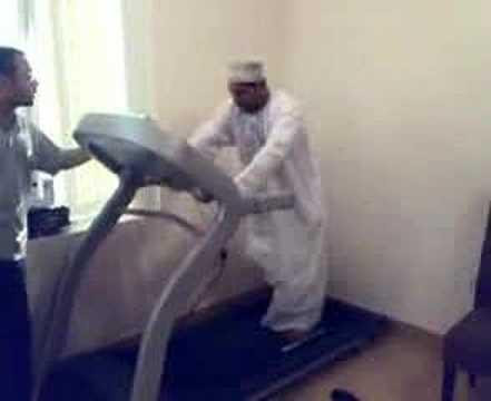 Arab On A Treadmill