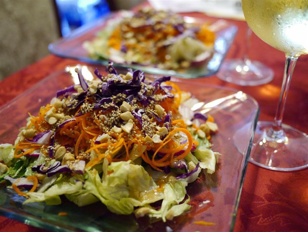 Salad & Chardonnay