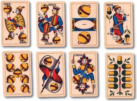 щвейцарские игральные карты традиционная колода