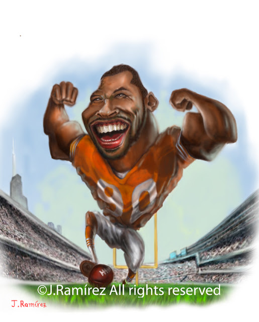 Julius Frazier Peppers humor caricature