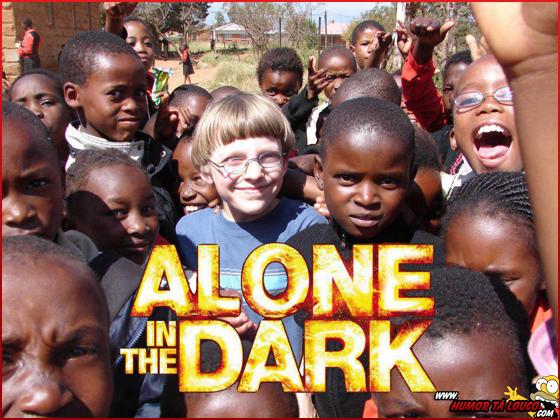 Alone in the Dark - Humor Negro