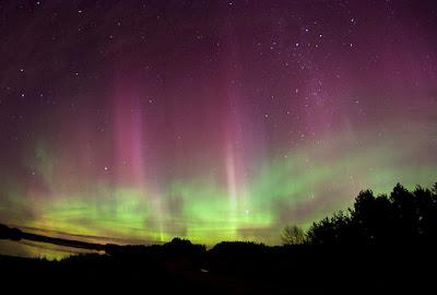Auroras borealis 16 de Junio 2012