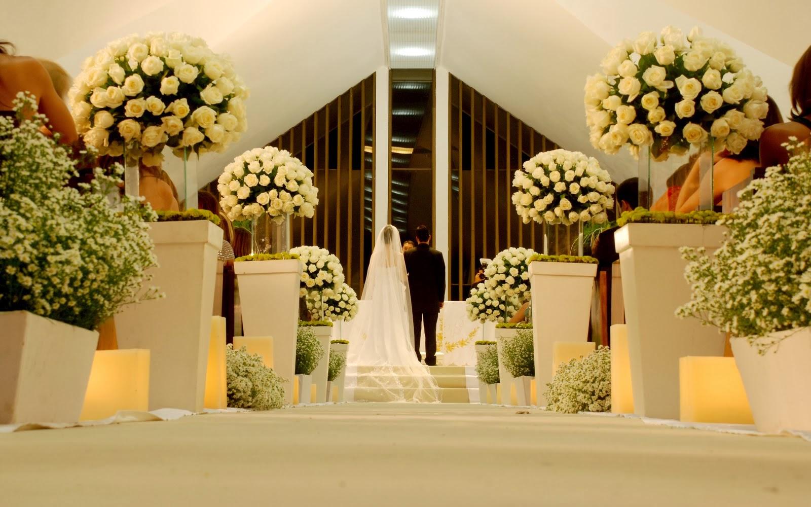 Enfeite De Igreja ~ Sou noiva! Igrejas católicas