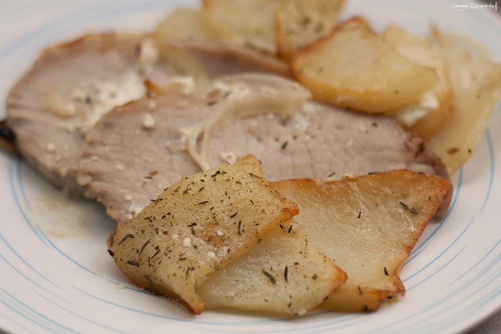 receta lomo al horno con limon