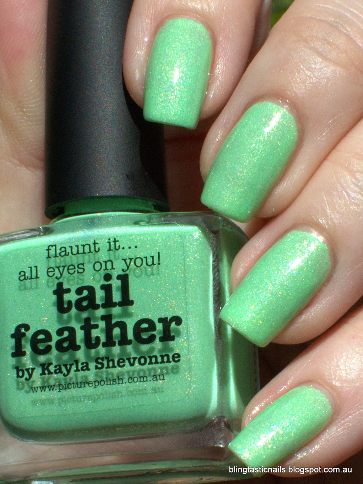 Picture Polish Tail Feather