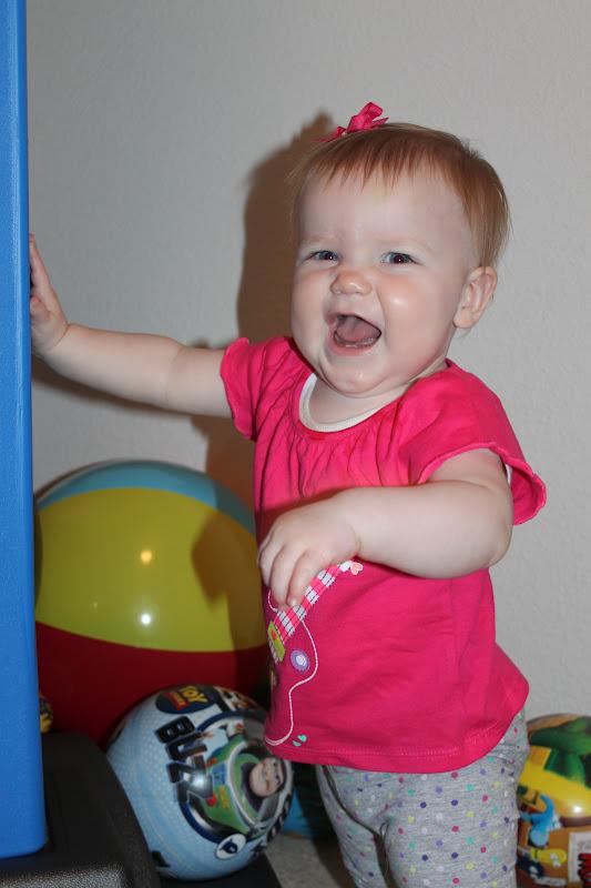 Reger Family Blessings: Happy 11 Months Baby Girl!