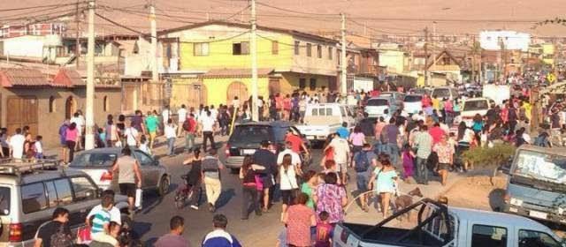 evacuación preventiva en la Región de Tarapacá