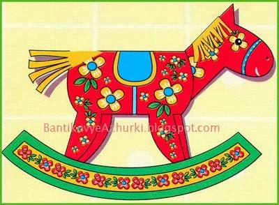 Как сделать лошадку из бумаги по шаблону