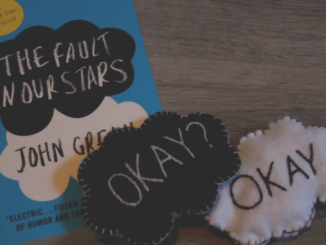 DIY The Fault in Our Stars Inspired hand warmers - VIDEO!