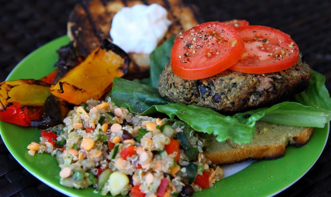 Greenbeane: Juicy Veggie Burgers