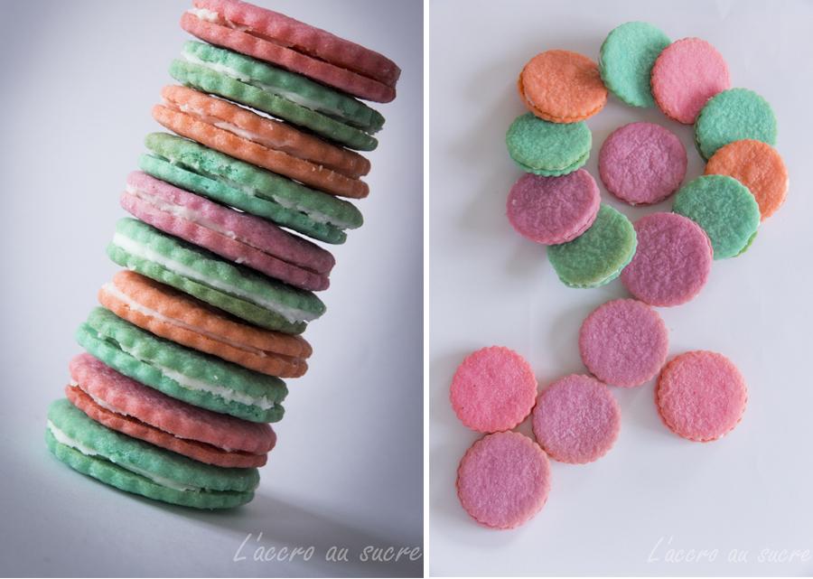 cookies couleurs