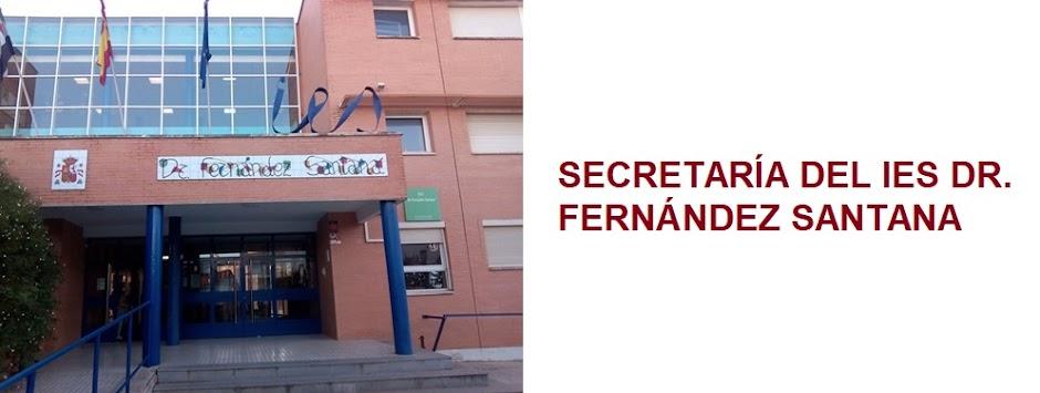 SECRETARÍA DEL IES DR. FERNÁNDEZ SANTANA