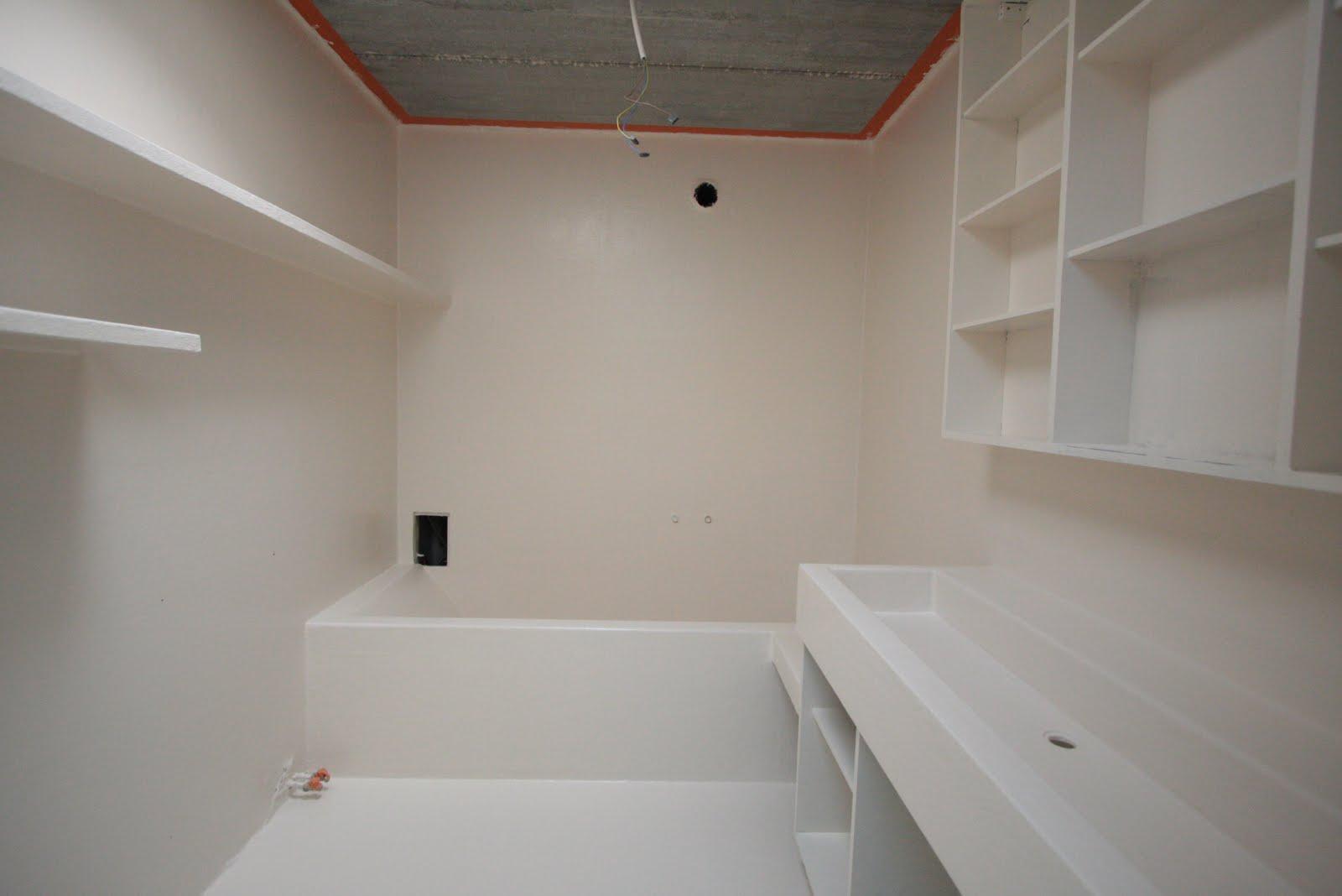 ruimtevisser: een badkamer uit polyester