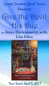Steve Hockensmith here: 4/15/17