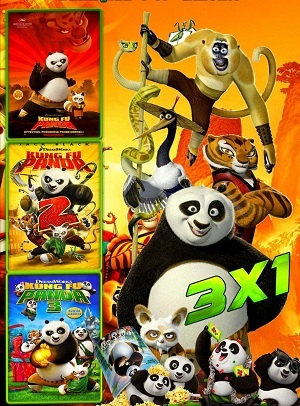 Kung Fu Panda - Todos os Filmes Torrent torrent download capa