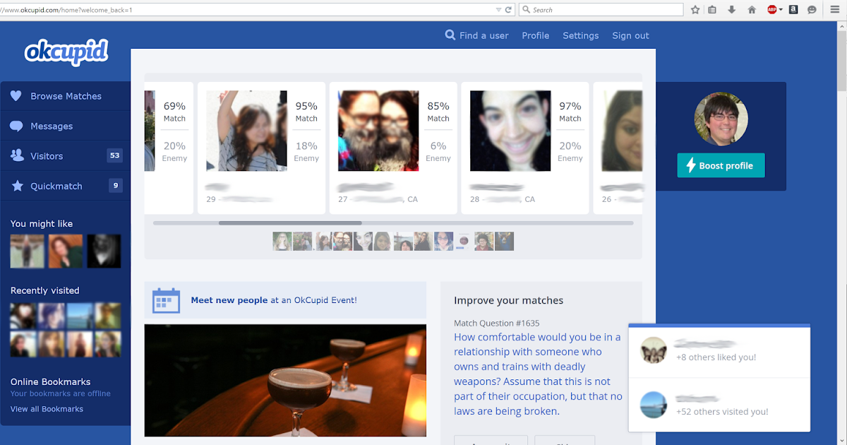 Matches okcupid browse 5 Ways