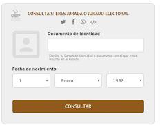Donde tengo que Votar?