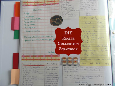 DIY, Recipe, Scrapbook