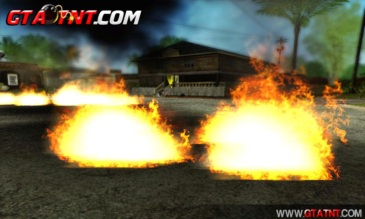 Effects do GTA V (Efeitos do GTA 5 para GTA San Andreas