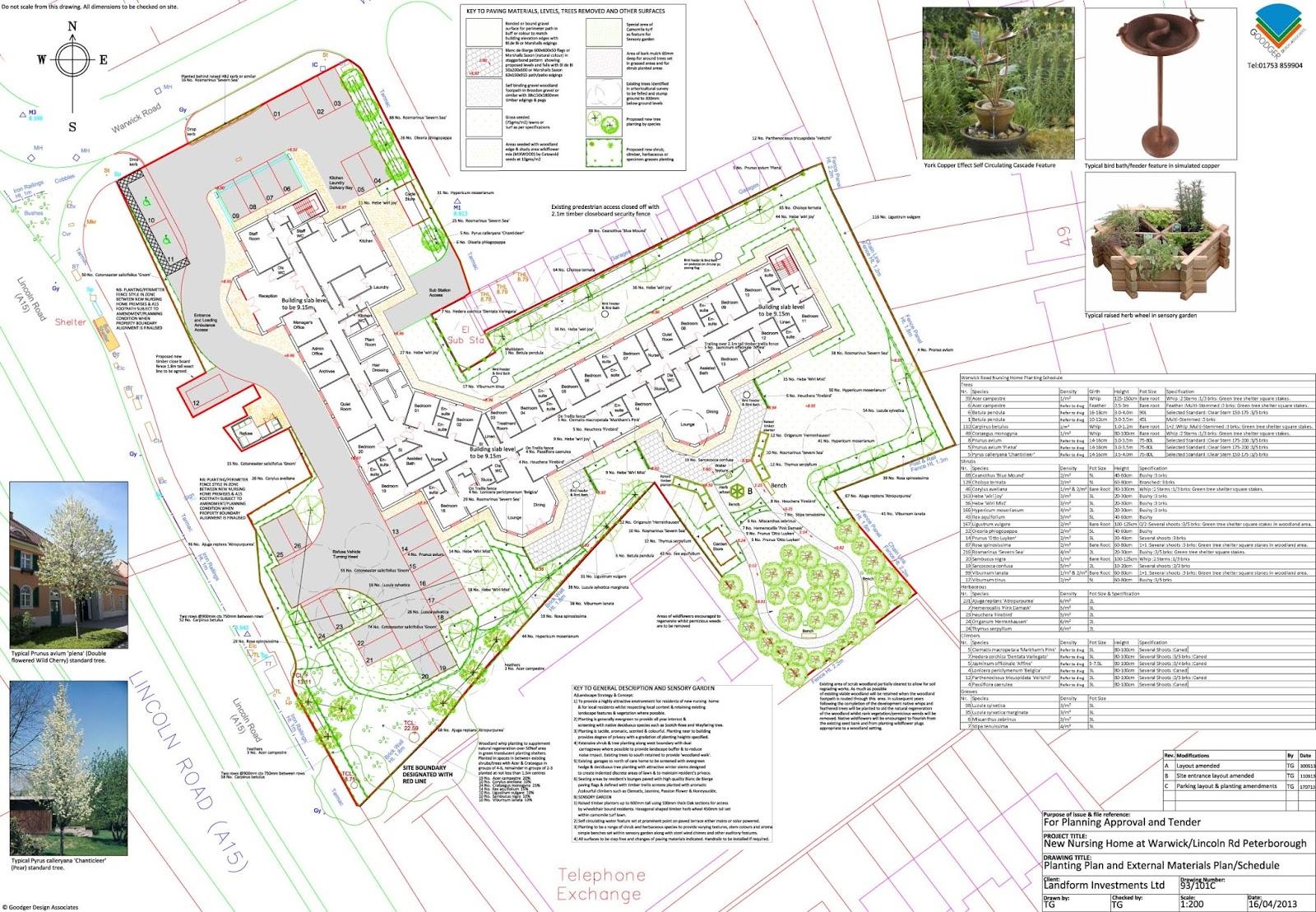 Nursing home planning design images for Nursing home garden design