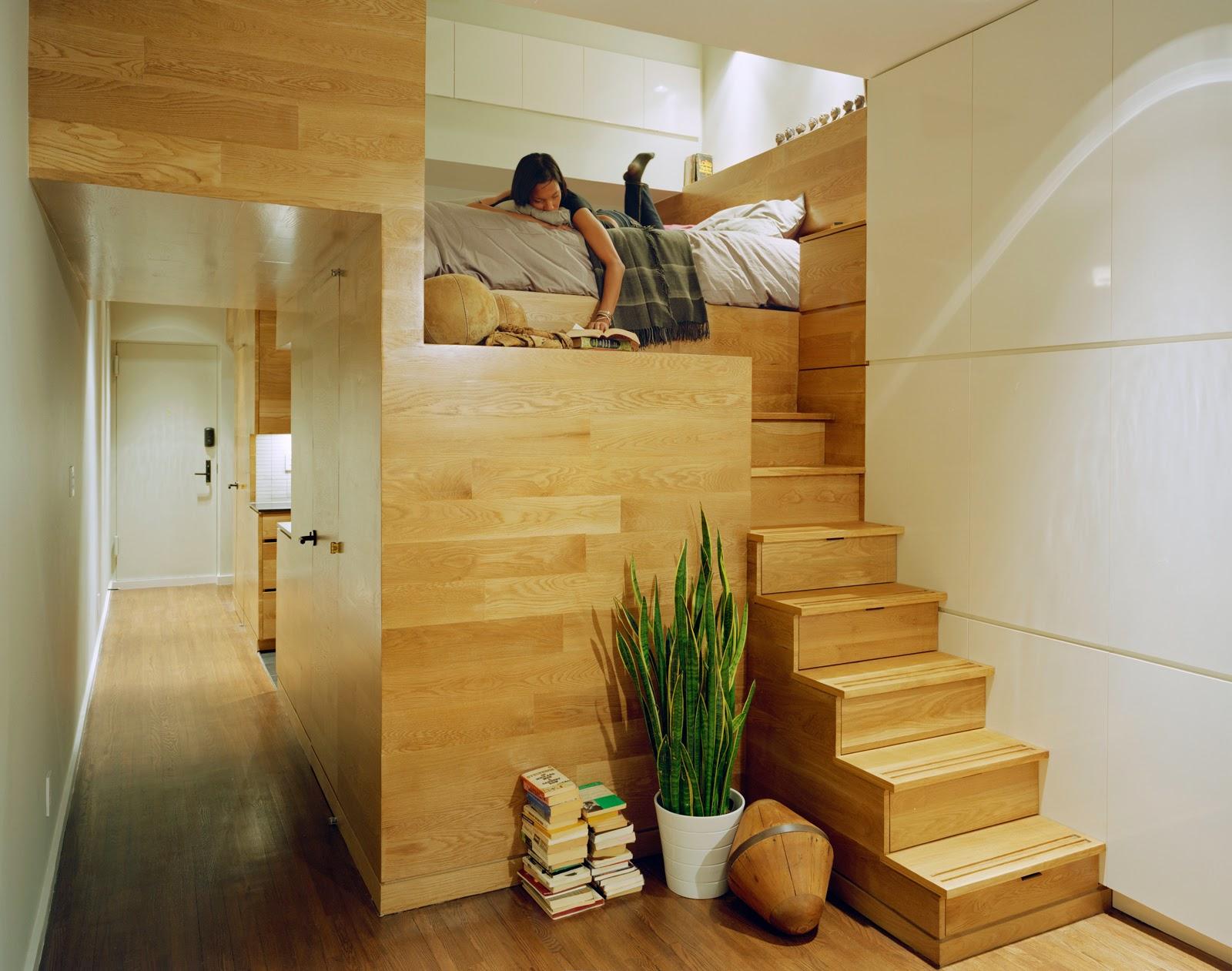 ruang apartemen efisien 1