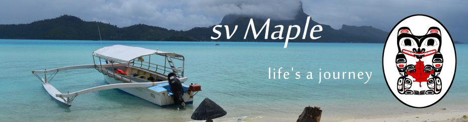 SV Maple - life's a journey