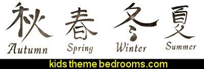 Asian stencils