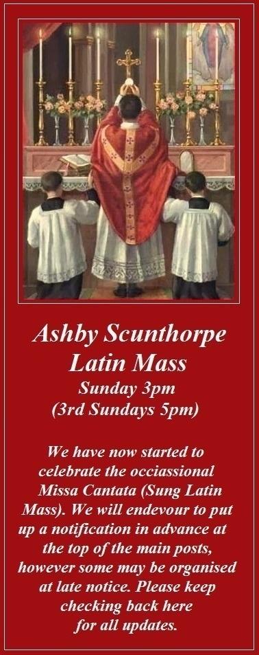 St. Bernadette's Ashby Low Mass