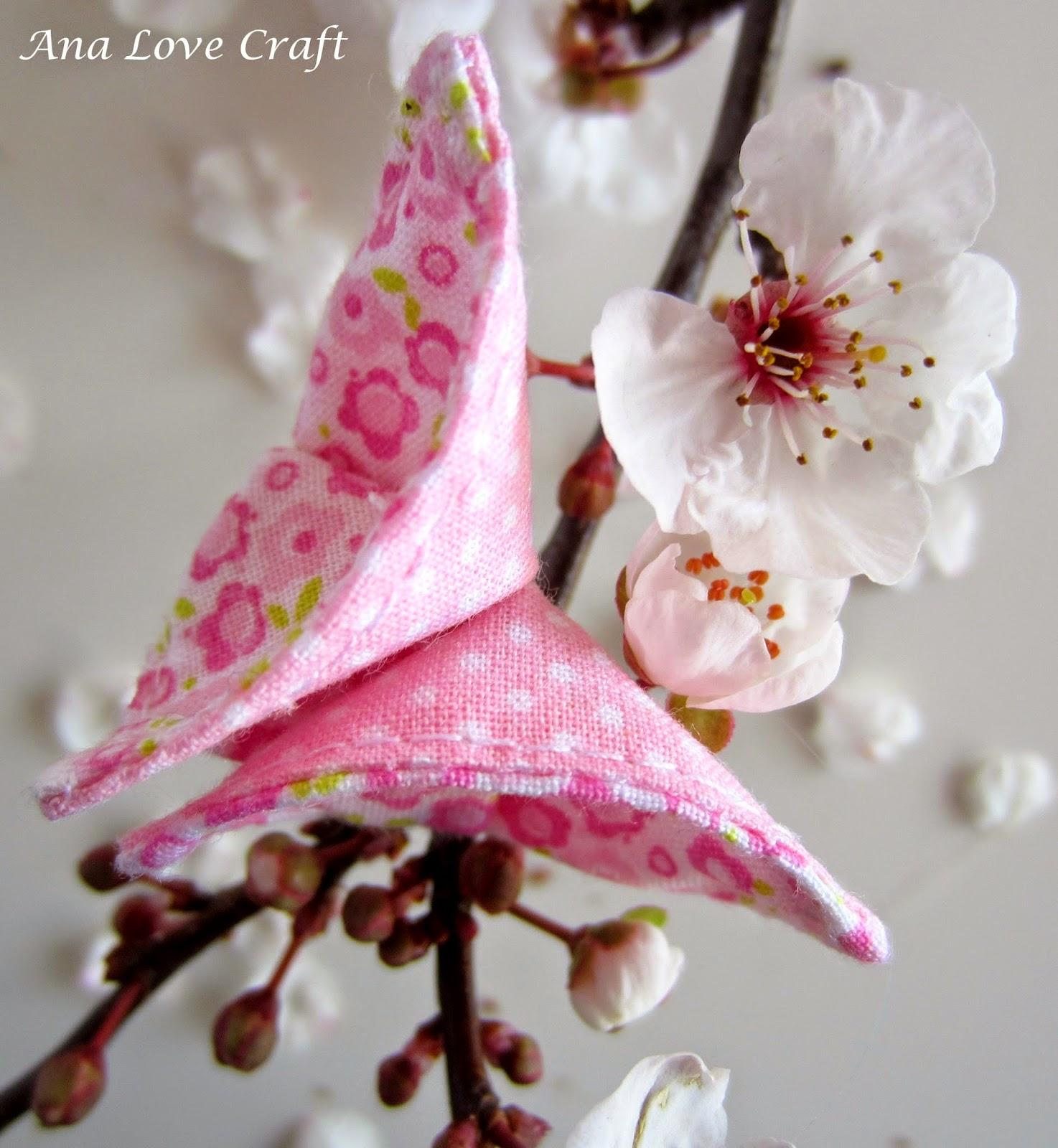 Atelier Boutique D Caroline: PAP flor de tecido - Fotos De Flores De Tecidos