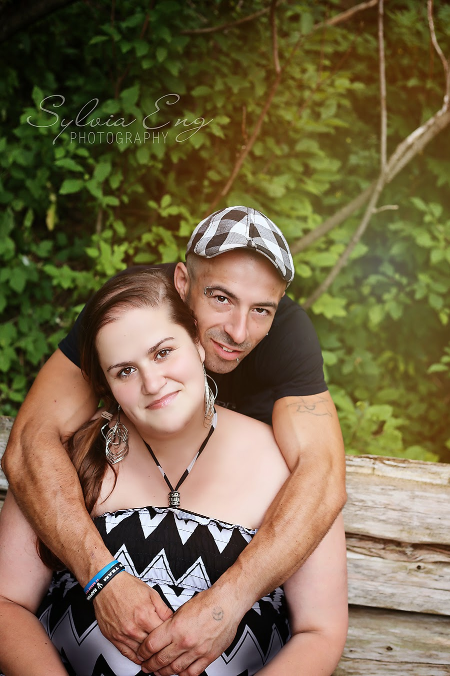 Summer Garden Engagement - Georgetown Ontario photos