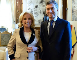 LA NOTICIA DEL DIA: MIRTHA LEGRAND Y MAURICIO MACRI