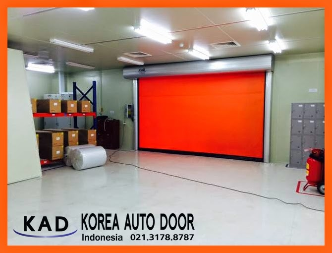 KAD high speed door Indonesia have unique technology of auto recovery system.