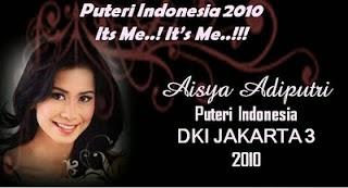 Aisya Adiputri Beauty Pageant