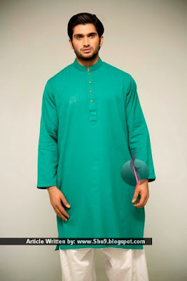 Latest Fresh Designs of Men Kurta Salwar