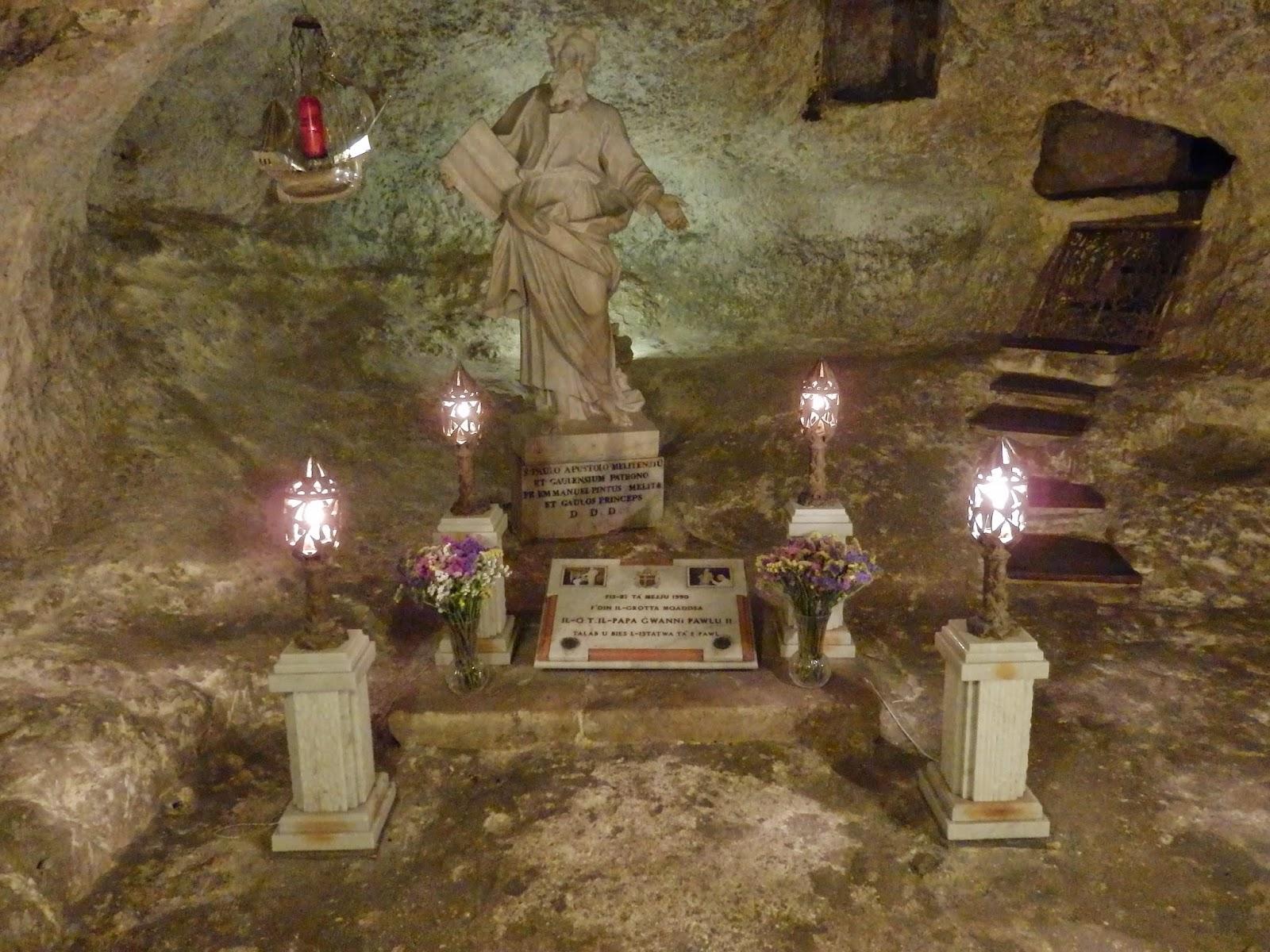 St Paul's Grotto, Rabat, Malta
